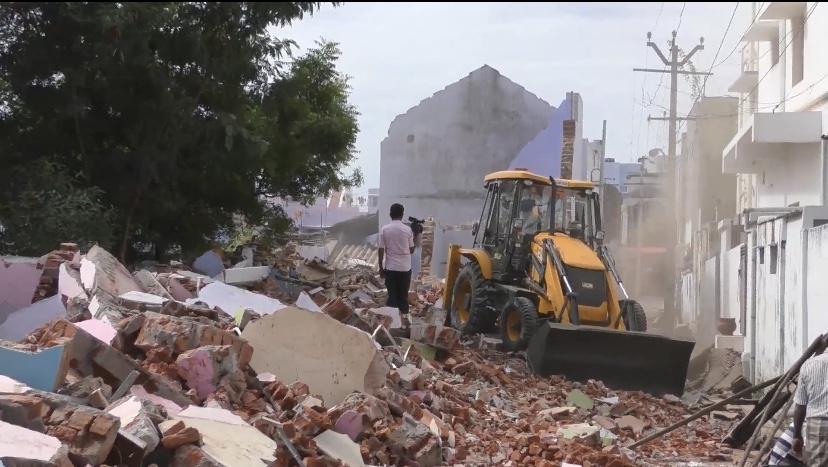 Demolishing Houses