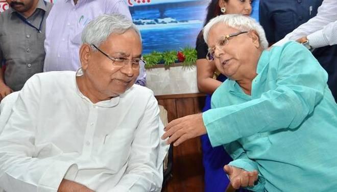 லாலு பிரசாத், நிதீஷ் குமார் - Image credit : thehindu.com