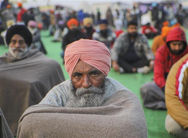 போராடம் விவசாயிகள் - Image Credit : https://www.tribuneindia.com/